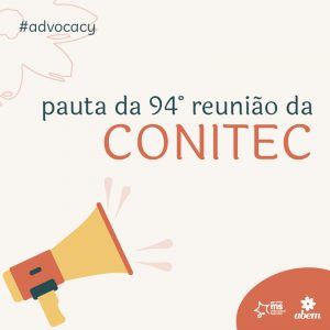 Pauta da 94ª reunião da Conitec